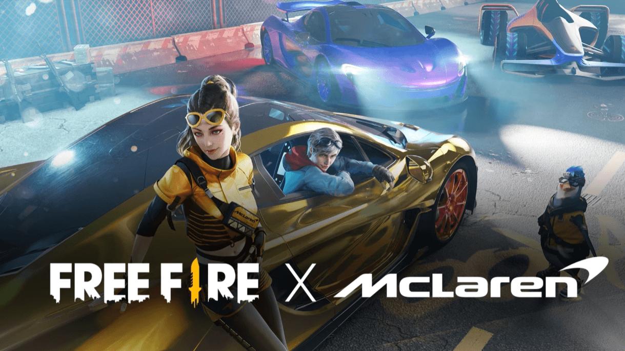 Kolaborasi McLaren dengan Free Fire