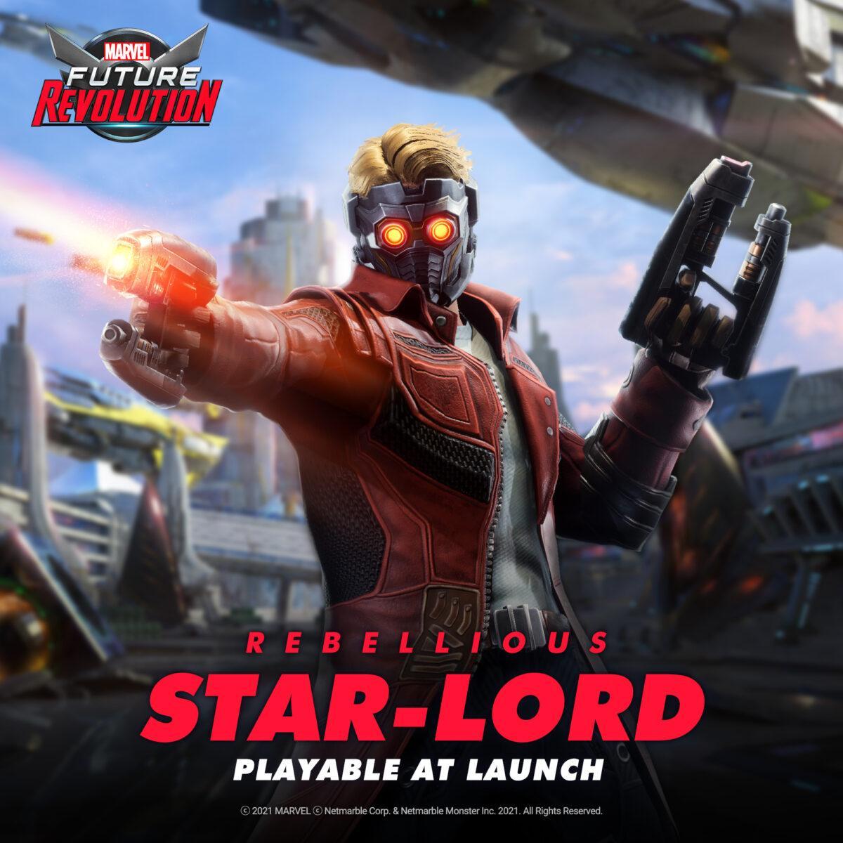 star-lord marvel future revolution 1