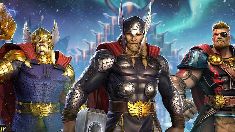 thor marvel realm of champions