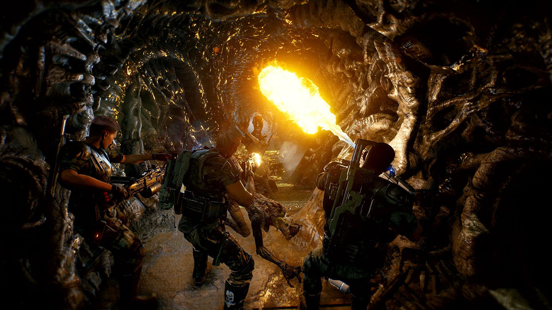 aliens fireteam elite 1